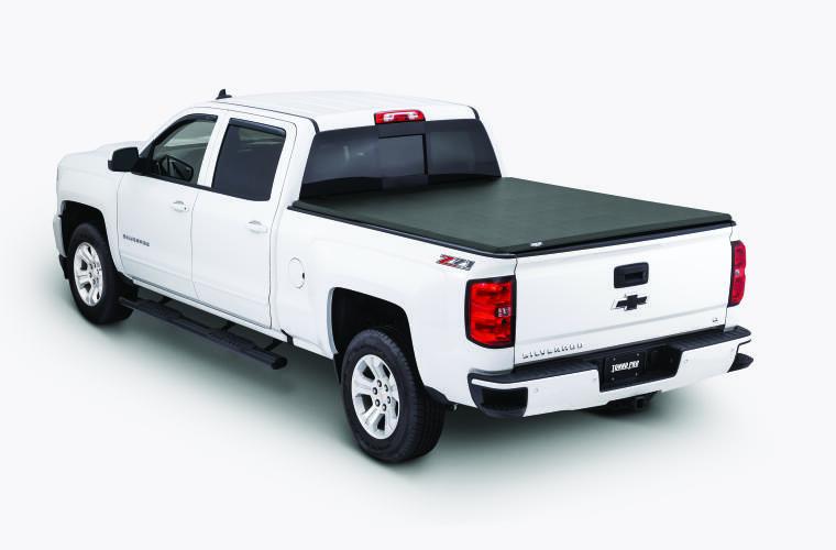 TonnoPro TPO42-108 Tonnofold Tonneau Truck Bed Cover for 14-18 Chev Silv 6.7'