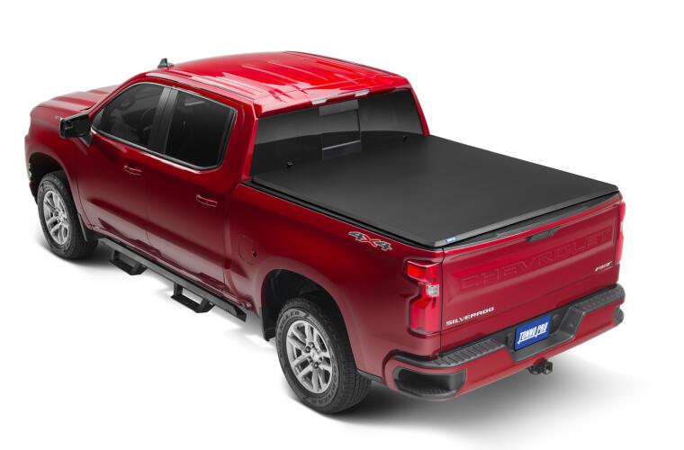 TonnoPro TPO42-116 Tonnofold Tonneau Truck Bed Cover for-19-21 Chev Silv 5.10'