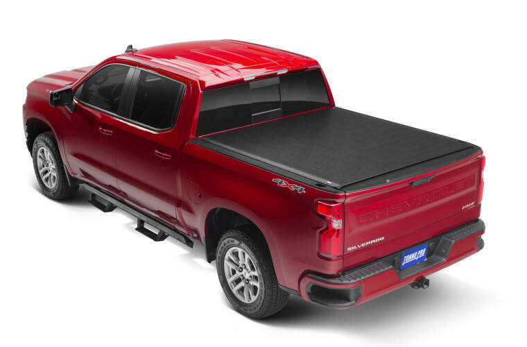 TonnoPro TPOLR-1050 LoRoll Tonneau Truck Bed Cover for 14-18 Chevy Silv 5.9'