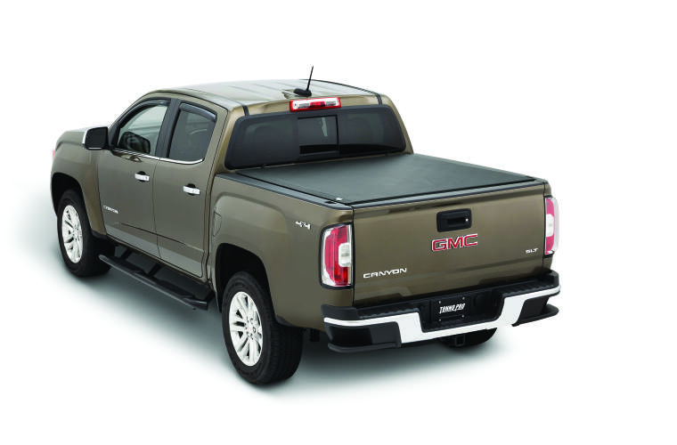 TonnoPro TPOLR-1085 LoRoll Tonneau Truck Bed Cover for 15-21 Chevy Colorado 5.3'