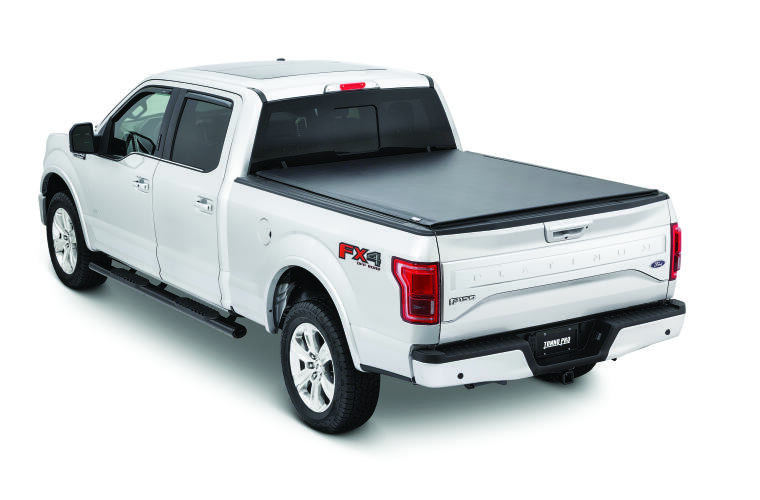 TonnoPro TPOLR-3050 LoRoll Tonneau Truck Bed Cover for 15-21 Ford F-150 6.7'
