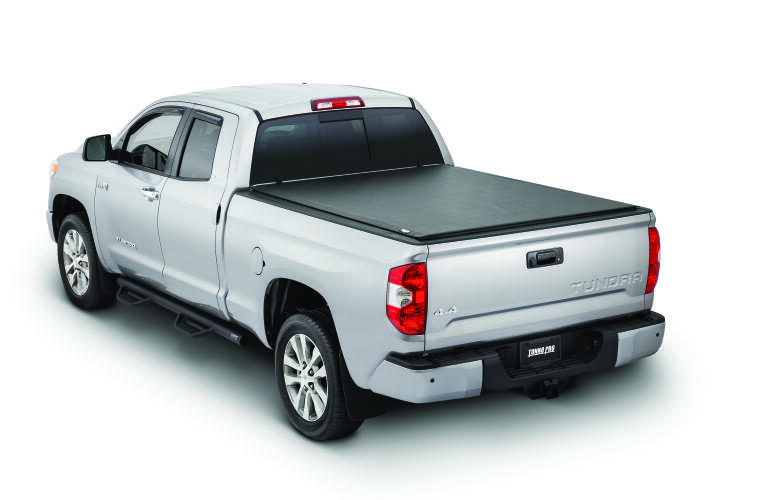 TonnoPro TPOLR-5015 LoRoll Tonneau Truck Bed Cover for 07-21 Toyota Tundra 8.2'